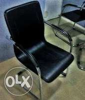 Q9 Office Durable Leather Visitors Chair(New)