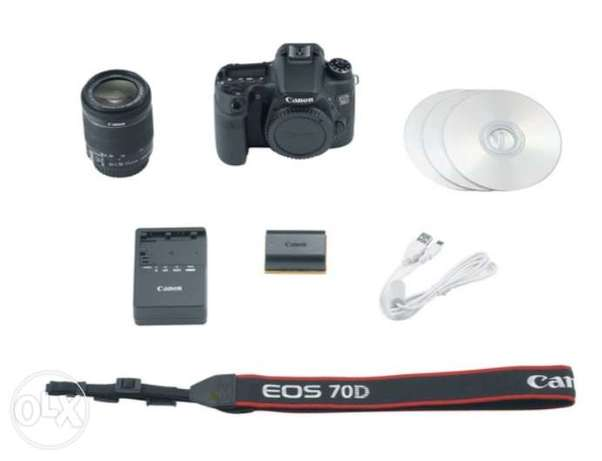 Canon 70D With 18-55mm Lens Highridge - image 5