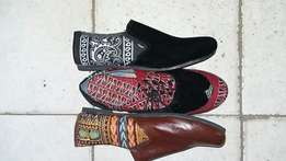 Ntii collection, men Ankara shoes