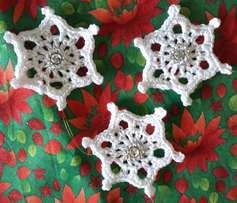 christmas tree snowflakes