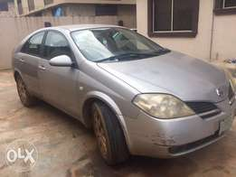 A Clean Nigeria Used Nissan Primera 2003 For Sale