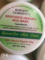 Knights facial mud mask