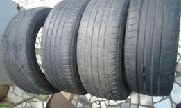 16inch and 17inch tyres for sale 205-55 -205-50