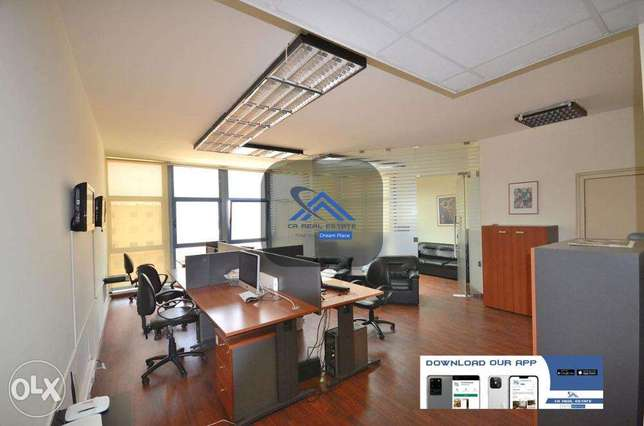 office with furniture for rent cash حازمية -  1