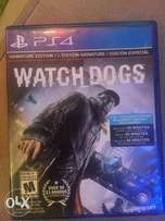 Watch dogs PlayStation4 cd for sale