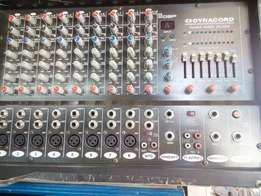Dynacord power mixer
