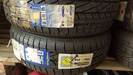 Goodyear 195 by 55 by 16 excellence RFT RSC Runflat tyres. Brand new!