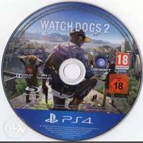 Used PS4 watchdogs 2(working perfectly)