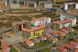 Apartments and houses at affordable prices.Subsidy also available