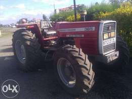 Massey Fergusson No. 385 4x4 Tractor For Sale/ Hire