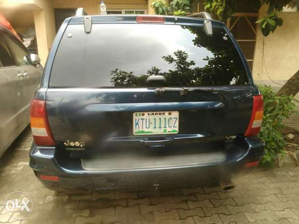 Jeep Grand Cherokee 2003 model Registered Surulere - image 8
