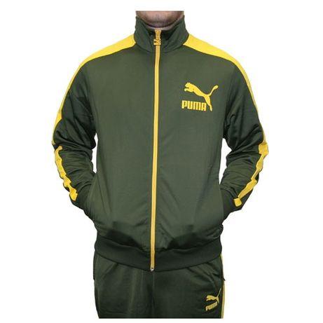 Puma T7 Track Jacket Archive Forest night Nowa bluza 557.972