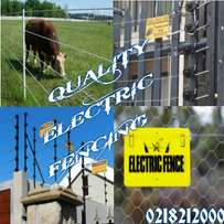 Qualified Electric fence installers at Danielec!!!