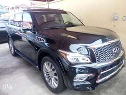 2017 infiniti QX80. Full option. Selling at affordable cars