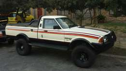 Ford Cortina bakkie with chevy 350 v8