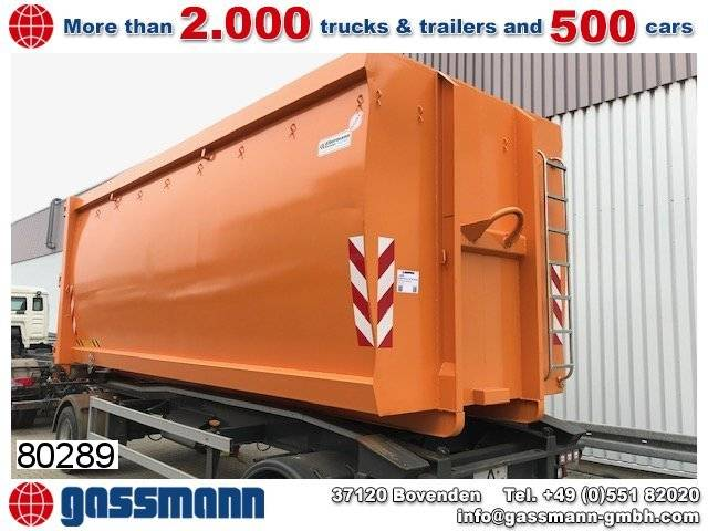 Andere Ecoline Typ S88s Abrollcontainer, ca. 37m³