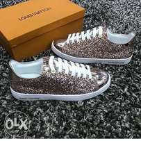 Sparkling LV sneakers for ladies