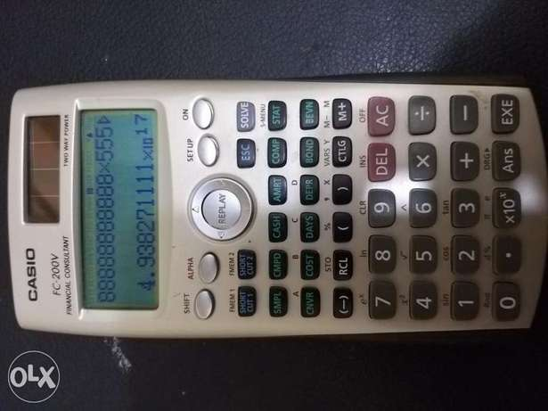 Casio FC-200 V Financial Consultant
