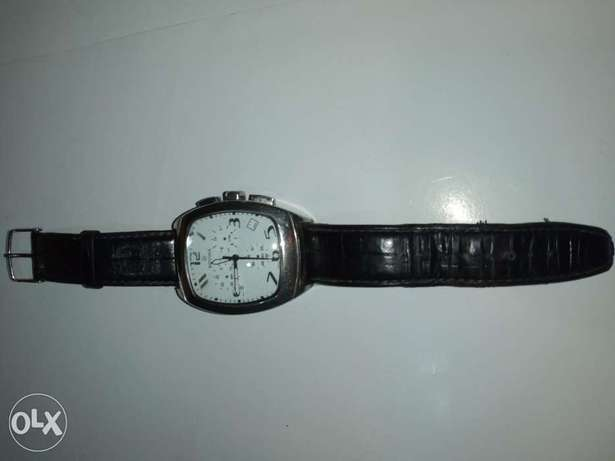 Original Rovina watch used real leather stainless steel