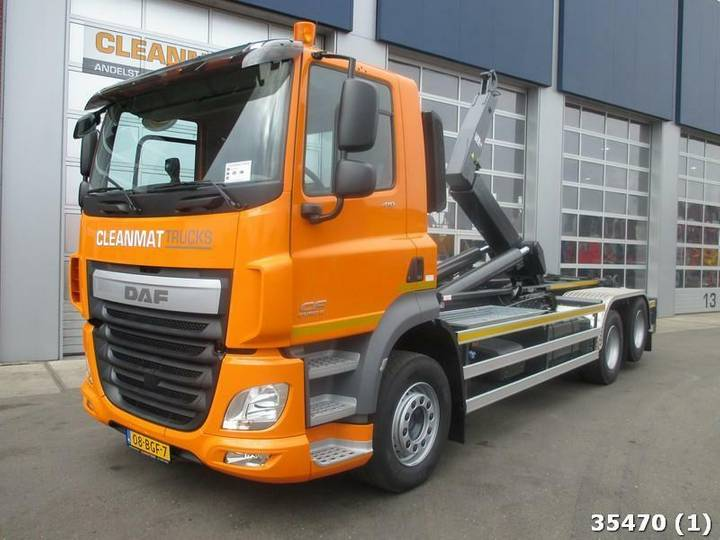 DAF FAS CF 410 Container E6 / Leasing - 2015