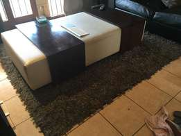Large grey and silver rug 2.5mx4m