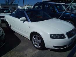 Audi A4 3.0 Convertible Tiptronic with only 151000km