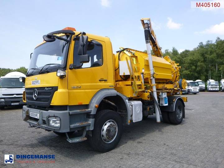 Mercedes-Benz Axor 1824 RHD 4x4 Whale 7m3 vacuum truck - 2009