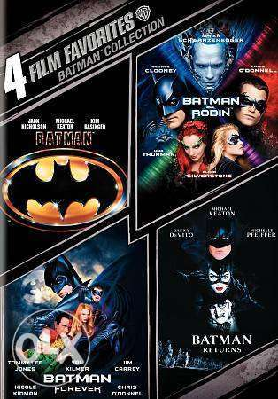 four original batman dvd movies