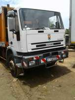 Very clean Iveco waste compactor truck for sale