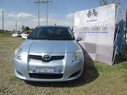 2008 toyota auris 1.4 rt affordable fuel saver