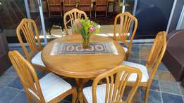 Solid Cherry wood 6 seater dining room table R9 800 neg.