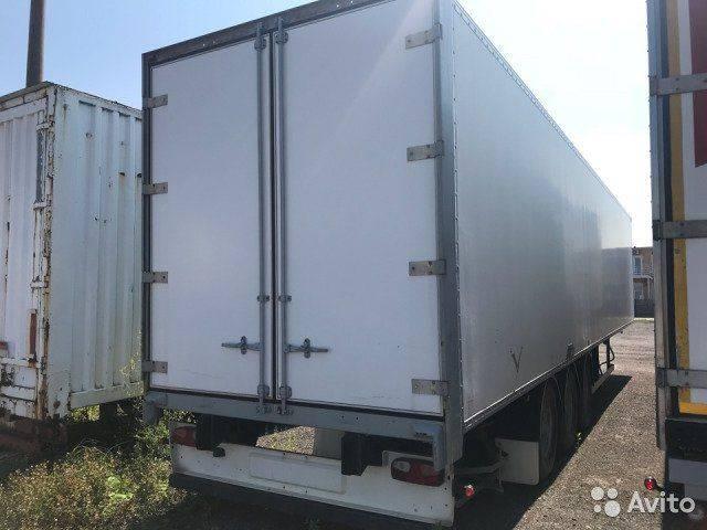 Box polupricep furgon mebelnyy closed  semi-trailer - 2006