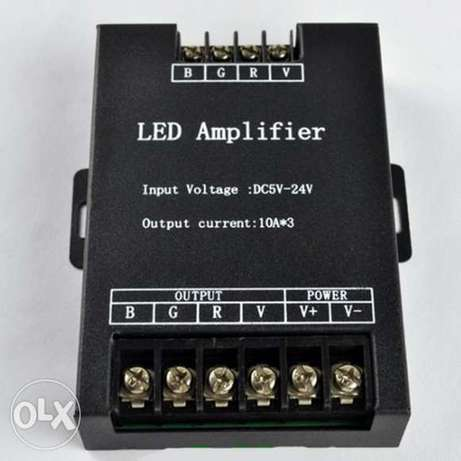 Led Controller RGB Amplifier DC12 - 24V 30A 3 Channel
