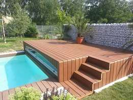 Wooden & composite deck and floors