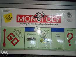 Brand New monopoly game at Don's Household