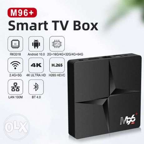 M96 network set-top box RK3318 Android 10.0 dual-band WIFI HD network