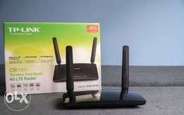 TP-Link MR200, AC 750 Wireless Dual Band 4G LTE Router