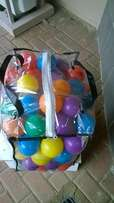 Toddlers play balls for sale