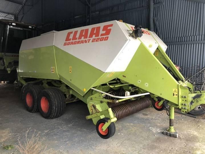 Claas quadrant 2200 - 1999