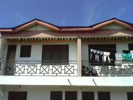 one bedroomed house to let in Diani on palm beach road.