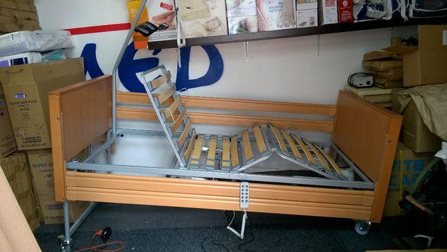 łóżko Rehabilitacyjne Elektryczne Z Barierkami Elbur Pb 331