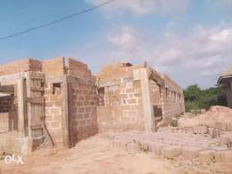 Uncompleted house