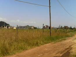 Kahawa sukari 1/2 acre plot for sale off baringo rd 1st row