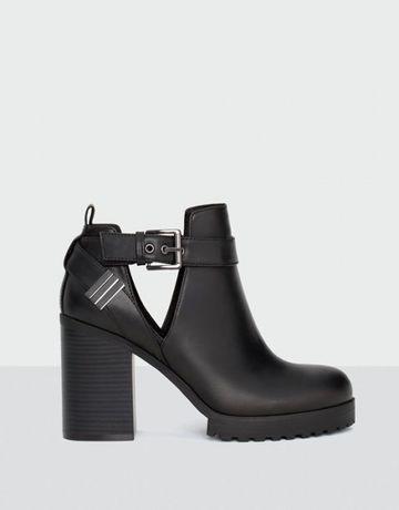 Ботильйоны   сапоги   полусапоги   ботинки на каблуке Pull and bear Львов -  изображение 1 8674c3dd113