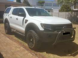 2015 Ford Ranger 2.2 TDCi XL D/Cab, White, ONLY 16500km!!