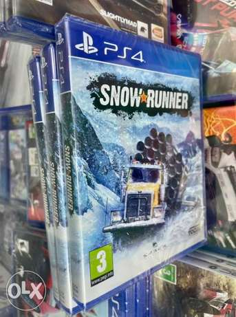 Snow Runner Ps4 (New!)