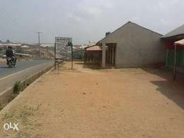 2 Units of completed 3 Bedroom flats with 4 Shops in Osogbo