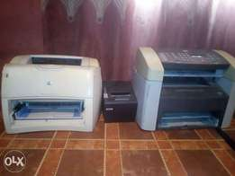 LaserJet 3015 3 in 1, Laserjet 1200 and Ronggta thermal