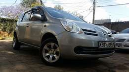 Clean Nissan Note (2007)silver 1500cc