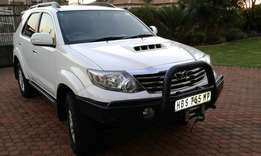 2013 Toyota Fortuner D4D A/T 4x4